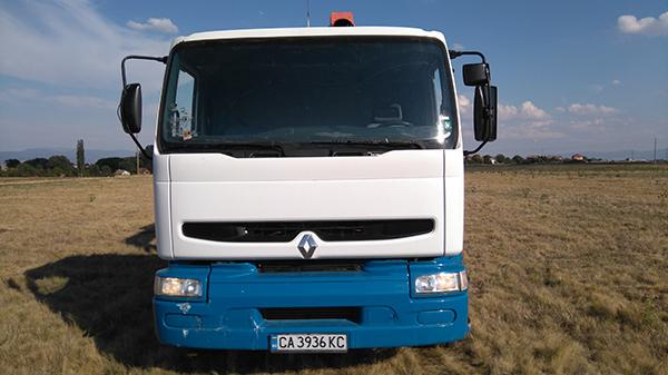 камион рено