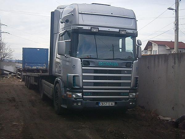 Scania  с платворма сиф