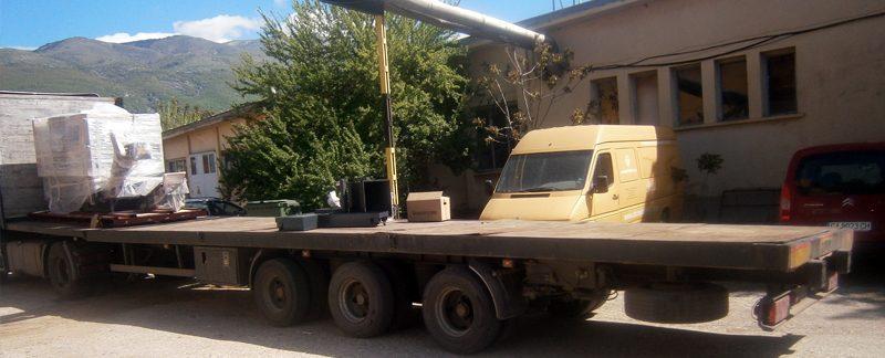 Камион с кран, Камион с кран цена, Камион с кран София, Автокран